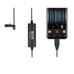 Микрофон петличный цифровой Boya BY-DM2 для Андроид устройств с разъёмом USB тип C