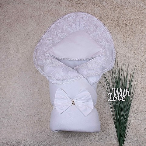Зимнйи конверт одеяло Волшебство (белый)