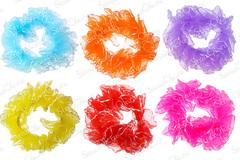 Купите яркие резинки для волос на пучок для фигурного катания