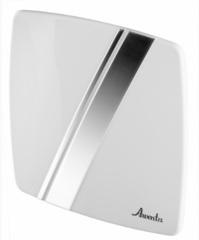 Awenta PLB100 Linea (Пластик, Белый и хром) Лицевая панель-решетка