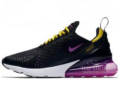 Кроссовки Женские Nike Air Max 270 Black Purple