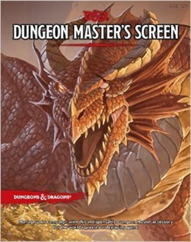 Dungeon Master's Screen (5 edition)