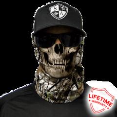 Бандана-труба с черепом SA Snow Camo Skull