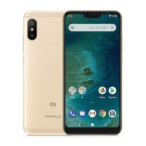 Смартфон Xiaomi Mi A2 Lite 4GB/32GB (Gold-золотой)