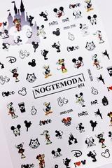 Наклейки NogteModa №051