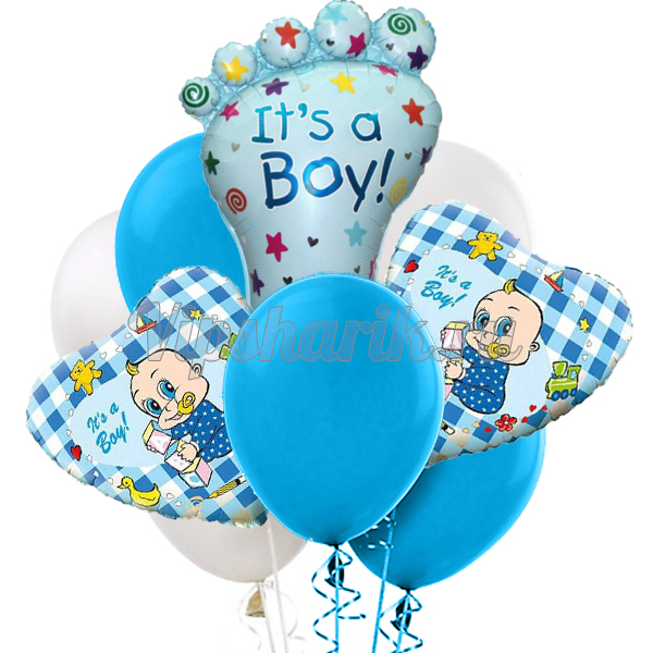 Букет «С Новорожденным» Мальчик