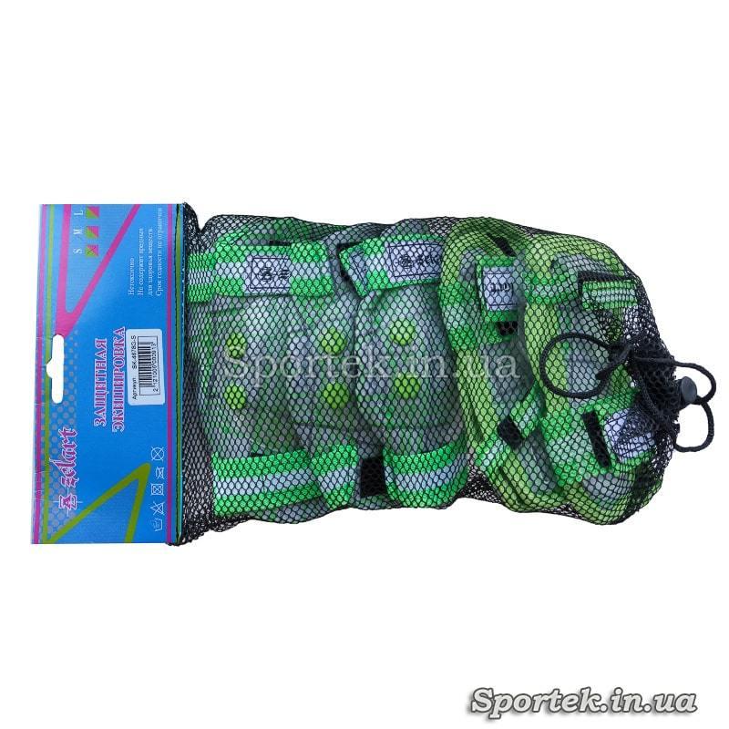 Упаковка зелено-белой защиты Zelart