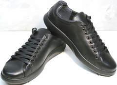Кроссовки кеды мужские GS Design 5773 Black