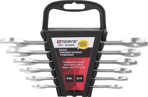 Набор ключей рожковых на пластиковом держателе 8-19 мм, 6 предметов