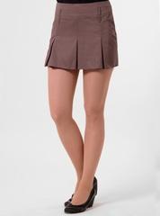 5318-1 юбка коричневая