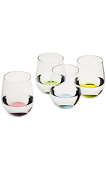Набор бокалов для воды 4шт 320мл Riedel The O Wine Tumbler Happy