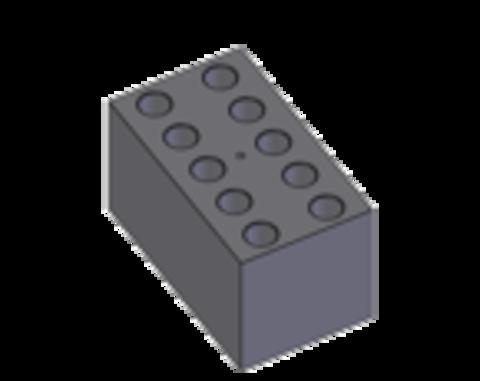 B10-13. 10 плоскодонних гнізд Ø 13 мм глибиною 30 мм. BioSan (Латвія)