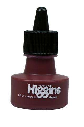 Пигментные чернила HIGGINS MAGENTA Pigment-Based 1 OZ, 29,6 мл