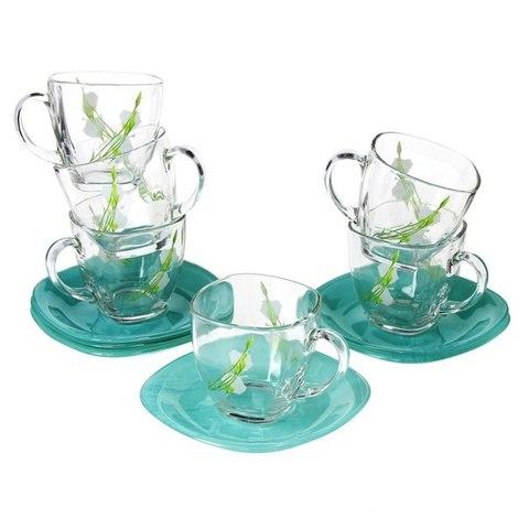 Чайный сервиз Luminarc Sofiane Blue 12 предметов (J7934)