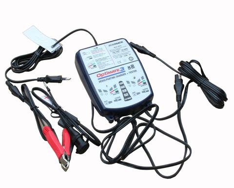 Двухканальное зарядное устройство Optimate 3Х2 (TM-450)
