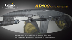 Выносная кнопка Fenix AER-01/AR102 для тактических фонарей