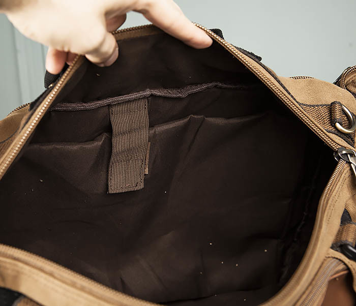 BAG365-2 Рюкзак-трансформер из плотного текстиля фото 13