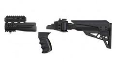 Обвес тактический ATI Strikeforce для АК, складной, регулируемый приклад, цвет коричневый