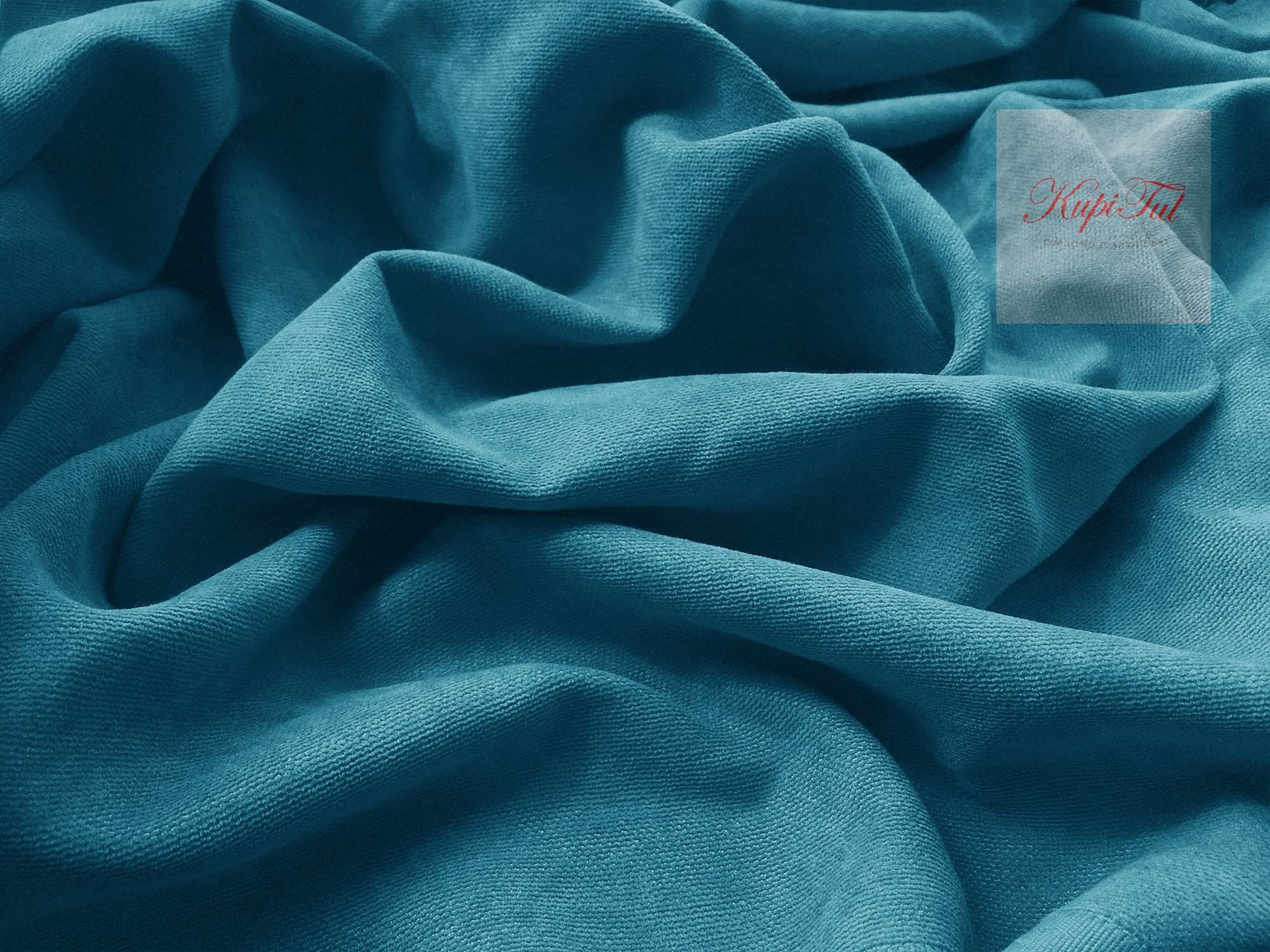 XL-комплект штор Ницца (морская волна)