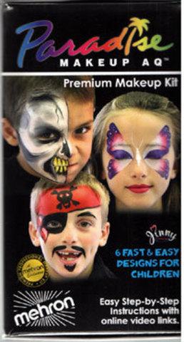 MEHRON Набор грима для рисования по лицу Paradise Face Painting Premium
