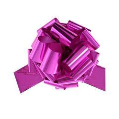 Бант-шар металлиз. (малиновый) 50х160 большой