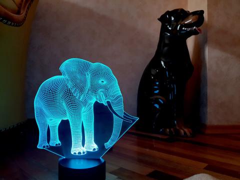 Ночник Слон