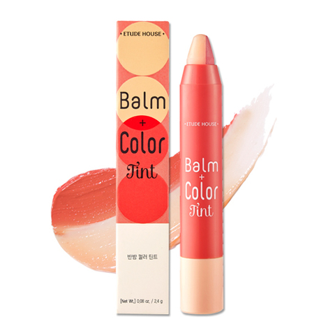 ETUDE HOUSE Двойной тинт-карандаш Balm+Color Tint #01 (2,4г)