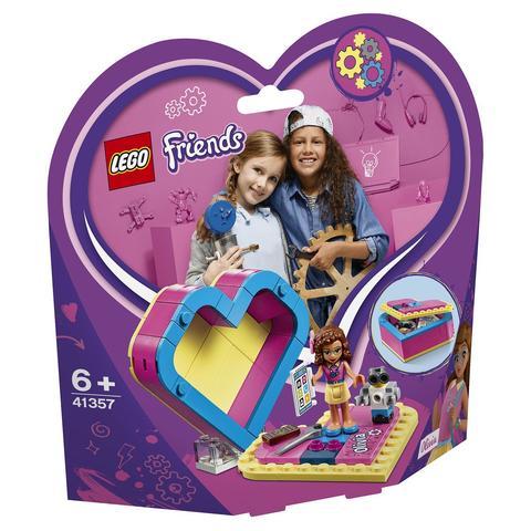 LEGO Friends: Шкатулка-сердечко Оливии 41357 — Olivia's Heart Box — Лего Френдз Друзья Подружки