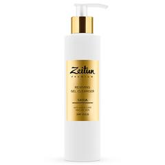 Восстанавливающий гель для умывания SAIDA для зрелой кожи с 24K золотом, Zeitun