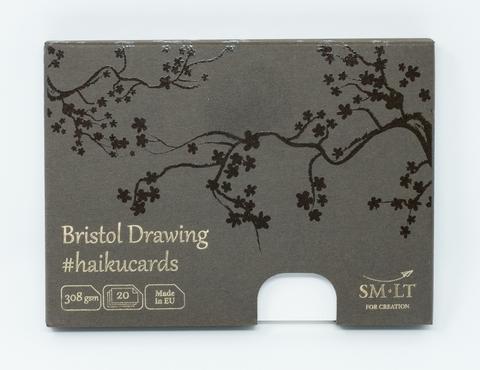 Набор открыток Bristol #haikucards 308г/м2 14.7*10.6 см 20 штук
