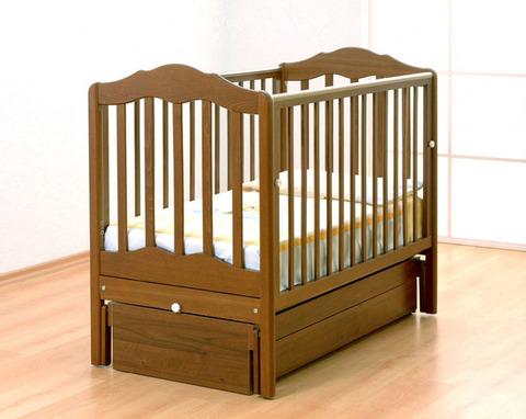 Детская кроватка Гандылян-Анастасия маятник продольный