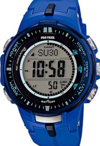 Купить Мужские часы CASIO PRO TREK PRW-3000-2BER по доступной цене