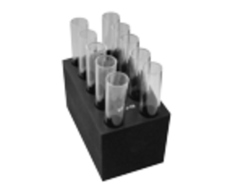 B10-16. Блок з 10 гніздами діаметром 16 мм (плоске дно). BioSan (Латвія)