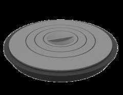 Плита чугунная Grillver для серии Искандер