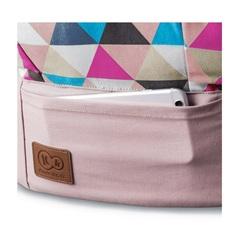 Рюкзак-переноска Kinderkraft Nino Pink