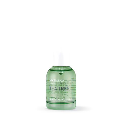 Косметическое масло с маслом чайного дерева для проблемной кожи, 30 мл / Aromatica Tea Tree Green Oil
