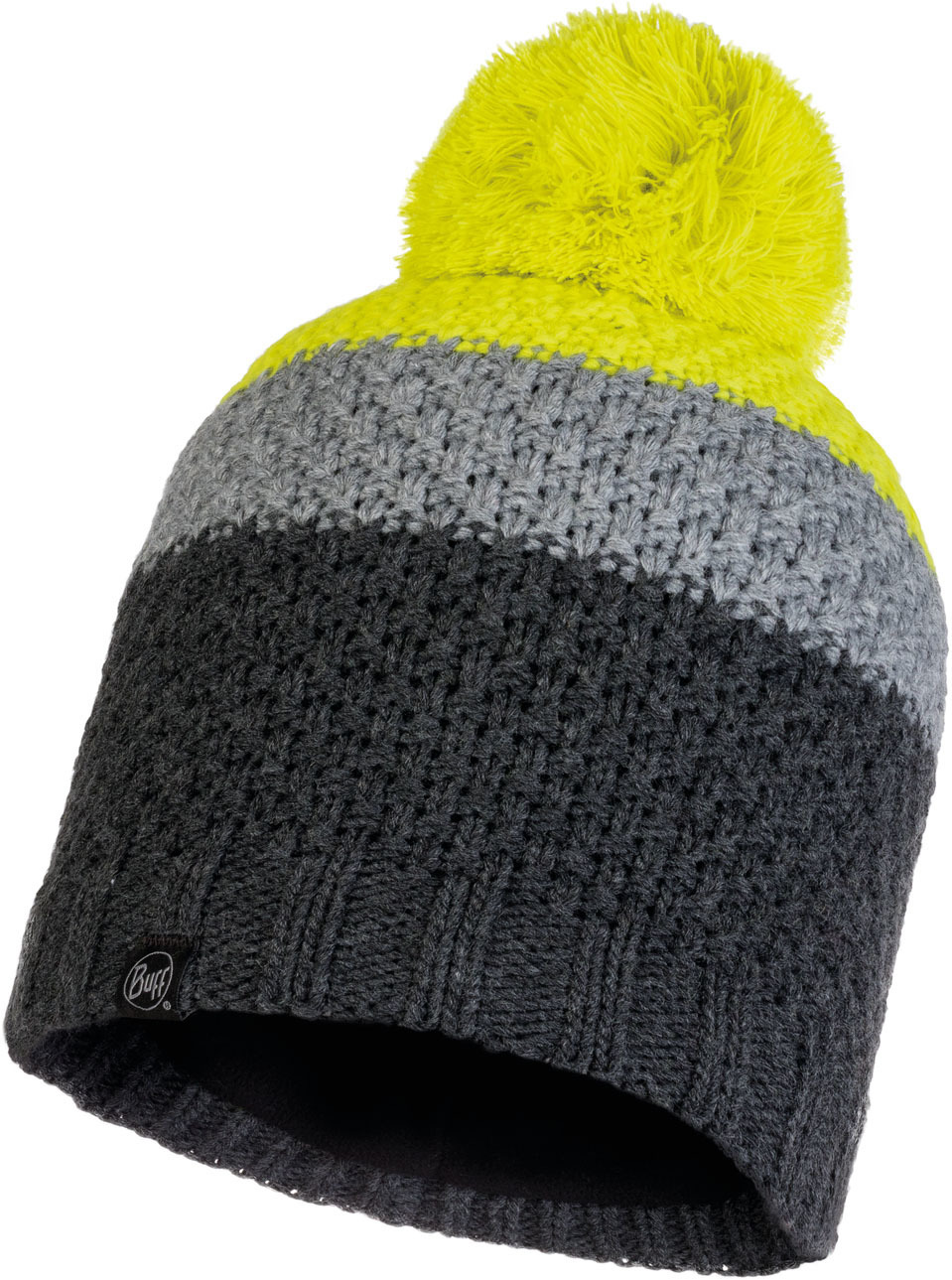 Шапки с помпоном Шапка вязаная с флисом Buff Hat Knitted Polar Jav Grey 120857.937.10.00.jpg