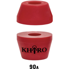 Бушинги Khiro tall cone and Washer 90а (красный)