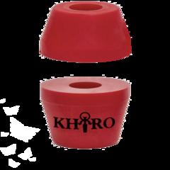 Бушинги Khiro tall cone and Washer 90а (красный)
