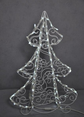 Новогодняя полу объемная фигура елка