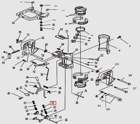 Рычаг для лодочного мотора T9.8 Sea-PRO (11-52)