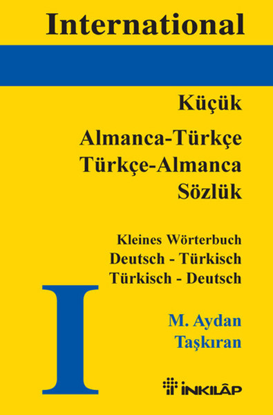 Kitab International Almanca - Türkçe Türkçe - Almanca Sözlük | M. Aydan Taşkıran