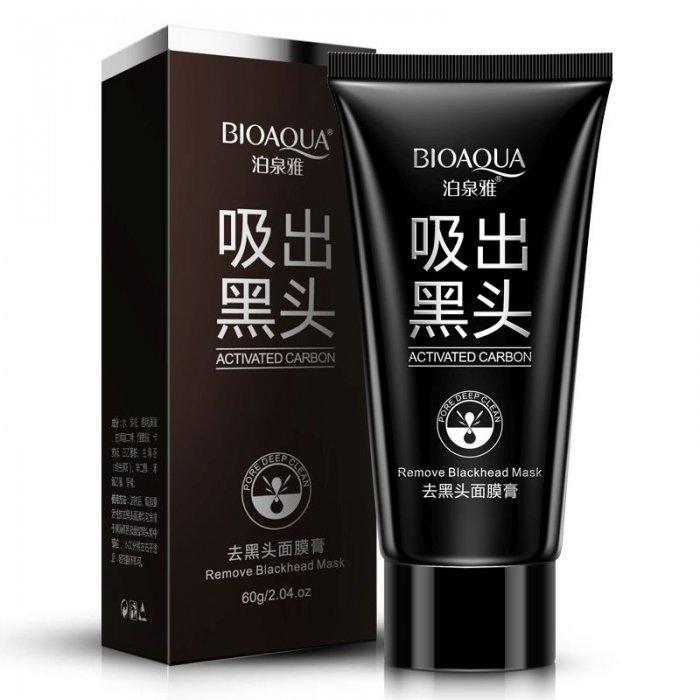 Хит продаж Маска для лица от черных точек с углем Bioaqua 2a948f9acb9f8c8a4ad864337b15aa24.jpg