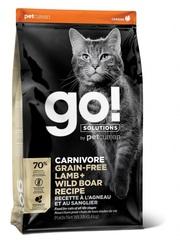 Корм беззерновой для котят и кошек, GO! Natural holistic, GO! CARNIVORE GF Lamb + Wild Boar, с ягненком и мясом дикого кабана