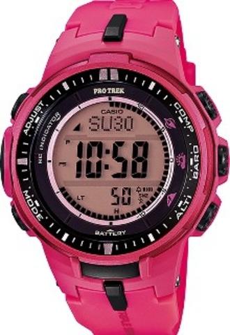 Купить Мужские часы CASIO PRO TREK PRW-3000-4BER по доступной цене