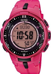 Мужские часы CASIO PRO TREK PRW-3000-4BER