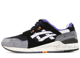 Кроссовки Мужские Asics Gel LYTE III Premium Grey Black White Orange