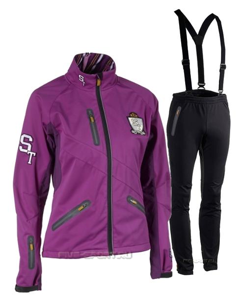Женский лыжный костюм ST Pro Dressed ST00000518-ST00000520 фиолетовый