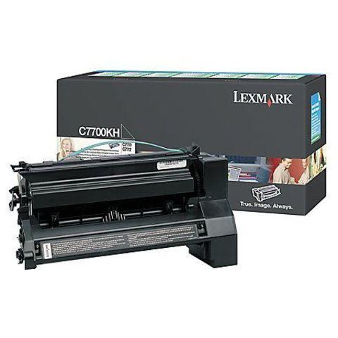 Картридж для принтеров Lexmark C770/C772 черный (black). Ресурс 10000 стр (C7700KH)