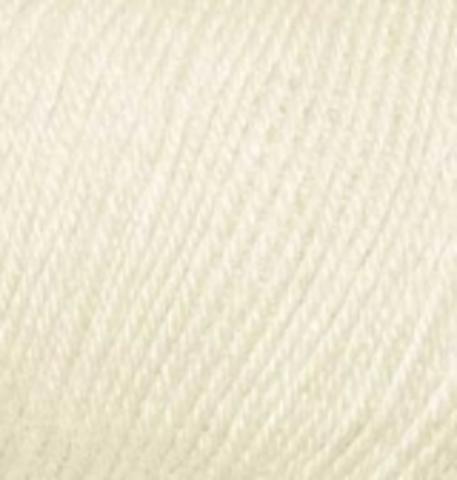 Купить Пряжа Alize Baby Wool Код цвета 001 | Интернет-магазин пряжи «Пряха»
